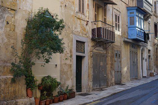 Valetta, City, Old, Malta, Mediterranean, Island, House