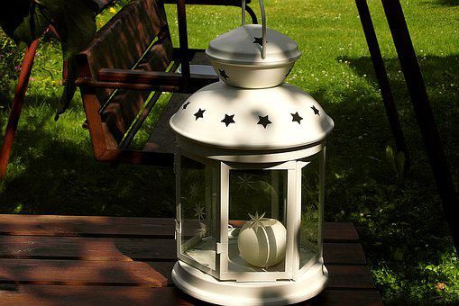 A Shining Lamp, Lantern, Stars, Ornament, Lampshade