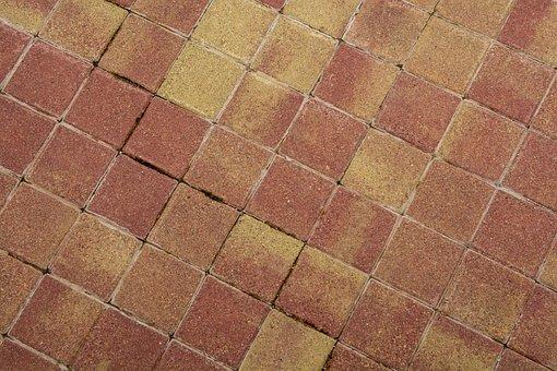 Soil, Pattern, Paving Stones, Sidewalk