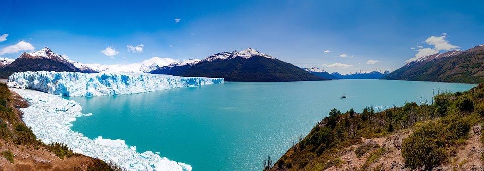 Argentina, Glacier, Perito Moreno, Ice, Patagonia