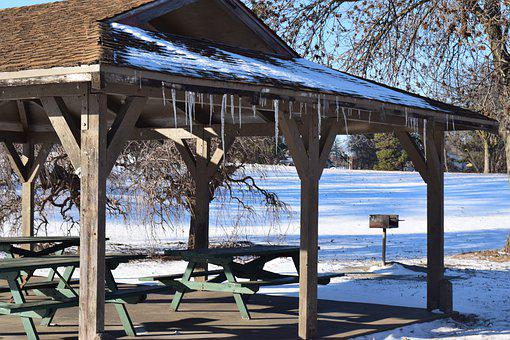 Picnic Shelter, Picnic, Picnic Tables, Winter Park