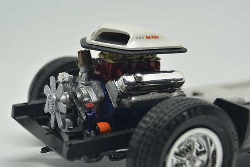 Abstract Photo, Plastic Model Car