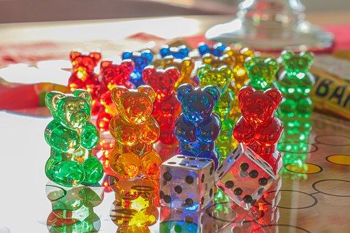 Not Ludo, Haribo, Gummibärchen, Gold Bears, Play, Cube