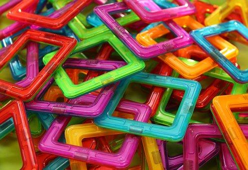 Pads, Square, Shape, Pattern, Puzzle