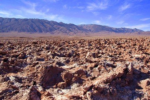 Chile, Salt Lake, Atacama, Nature