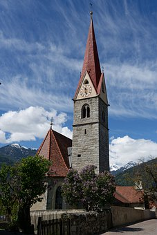 Church, Italy, South-Tirol, Architecture