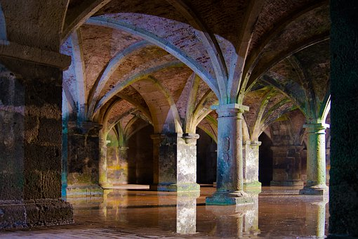 Cistern, Water, Old, Architecture, Historical, Stone