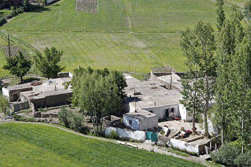 Tajikistan, Vrang, Village, Building
