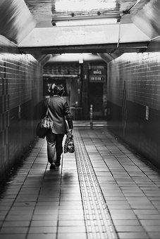 Subway, B W, Move, Broadway, Station, Transport, Usa