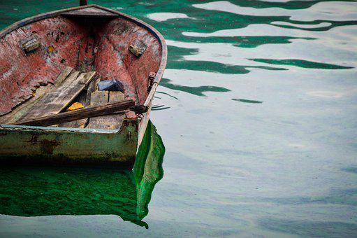 Guatemala, Boat, Lake, Travel, Nature, Canoe, Boats