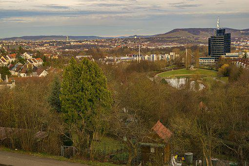 Stuttgart, Germany, Facade, Modern, Europe, Travel