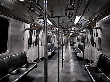 Metro, Subway, Train, Underground, London, Urban