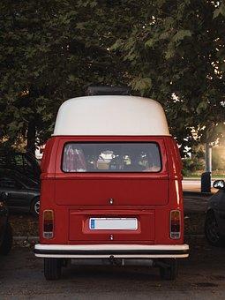 Volkswagen Type 2, Volkswagen, Van, Vw, Oldtimer, Retro