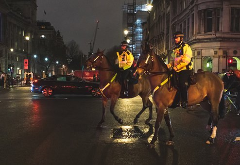 British Mounted Police, Police On Horseback