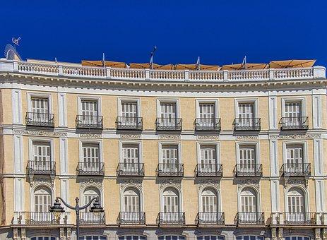 Spain, Madrid, Architecture, City, Buildings, Capital