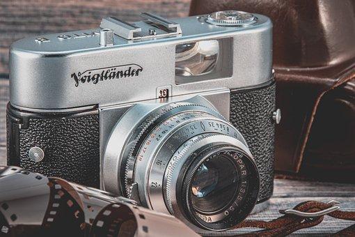 Analog, Old, Camera, Voigtlander, Photo, Film