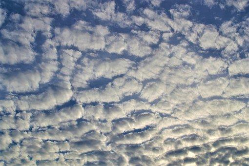 Clouds, Carpeted, Blanket, Sky, Skies, God, Design, Art