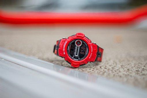G-Shock, Casio, Clock, Wrist Watch
