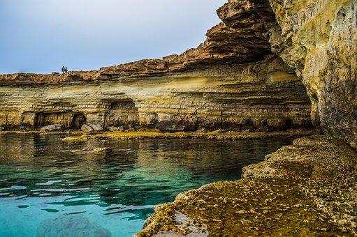 Cavo Greko, Cyprus, Sea Caves, Nature