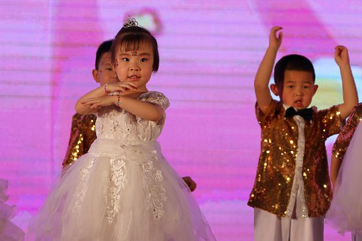 Children, China, Dance, Chinese Knot