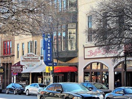 Sixth Street, 6th Street, Downtown, Austin, Storefront