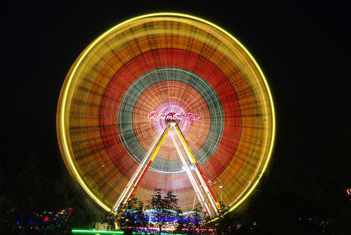 Ferris Wheel, Fair, Year Market, Entertainment