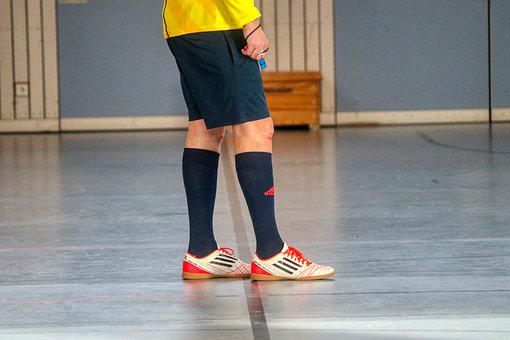 Referee, Indoor Soccer, Hall, Judge, Football, Male