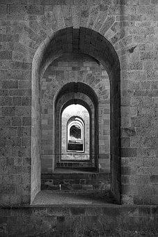 Arch, Building, Bridge, Germany, Places Of Interest