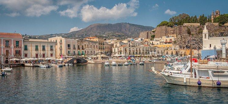 Lipari, Lipari Town, Lipari Island, Trip, Travel, Italy