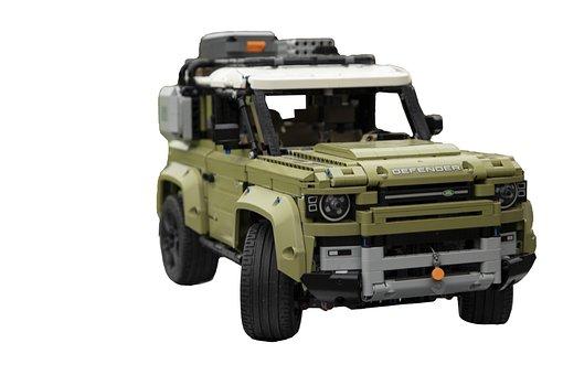 Car, Land Rover, Defender, Jeep