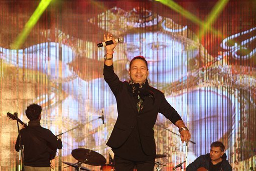 Kailash Kher, Singer, Bolywood, India, Culture