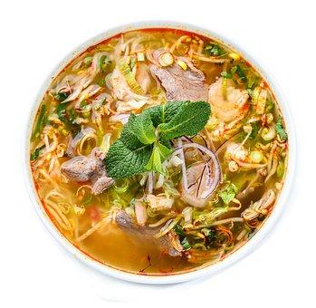 Asian, Soup, Noodles, Shrimp, Kitchen