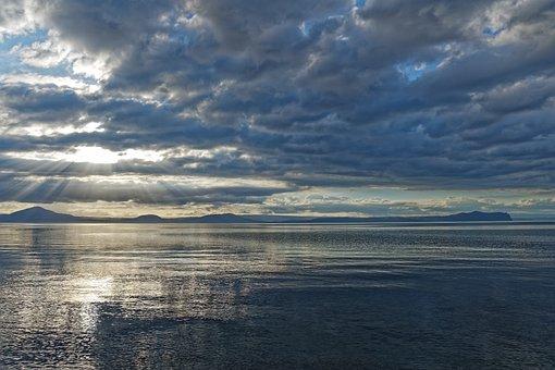 New Zealand, Lake Taupo, Lake, Waters