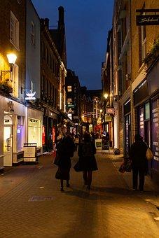 Carnaby Street, Soho, London, Urban