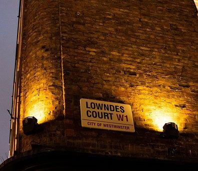 Lawndes Court, Soho, London, Urban, Uk, England