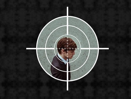 Sniper, Paparazzi, Target, Man, Businessman, Victim