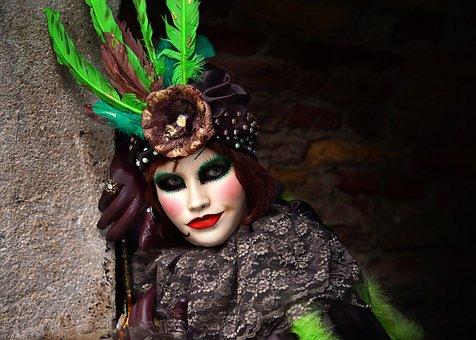Venice Mask, Venice Carnival, Mask, Venice
