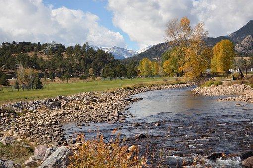 Colorado, Landscape, Estes, Park, Mountains, Nature