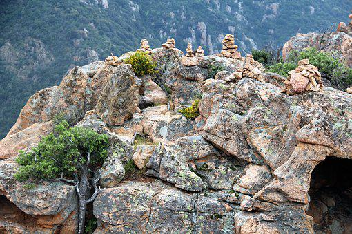 Rocks, Stones, Landscape, Nature, Corsica, Cliff