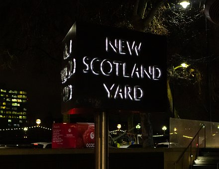 New Scotland Yard, Police, London, Westminster, Uk