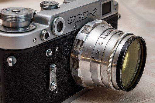 Camera, Lens, Retro, Old Camera, Rarity