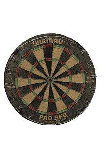 Darts, A Dart Board, Sports, Play, Arrow
