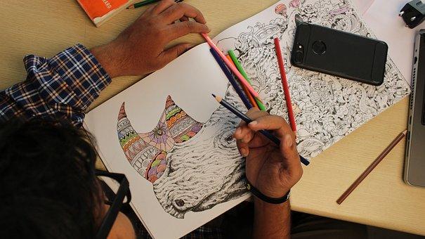 Sketch, Studio Life, Studio, Portrait, Photography