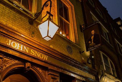 John Snow Pub, Soho, London, Pub, England, Landmark