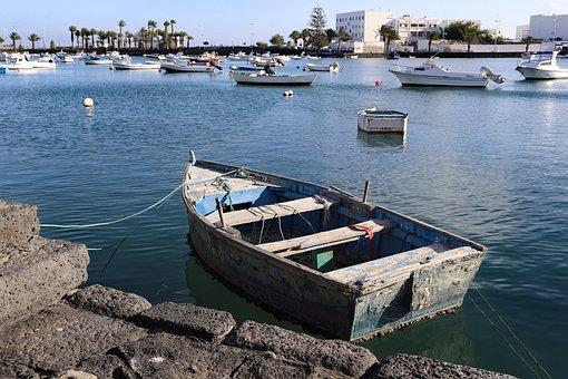 Rowing Boat, Vacations, Wa, Boat, Water, Lake, Sea