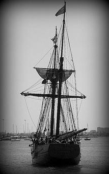 Ship, Sea, Sailing, Nautical, Boat