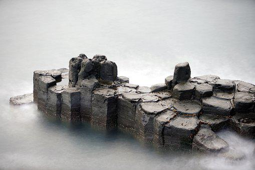 Jusang Joint, Volcano, Jeju Island, Korea, Sea, Travel