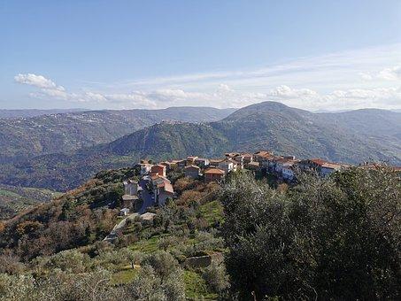 Frazzanò, Glimpse, Country, Nebrodi, Messina, Sicily