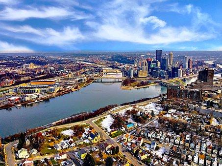 Pittsburgh, City, Architecture, Pennsylvania, Skyline