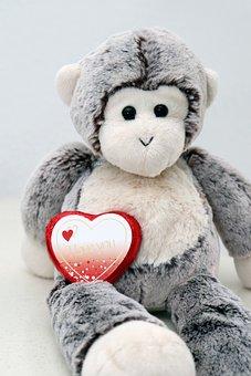 Valentine'S Day, Stuffed Animal, Love